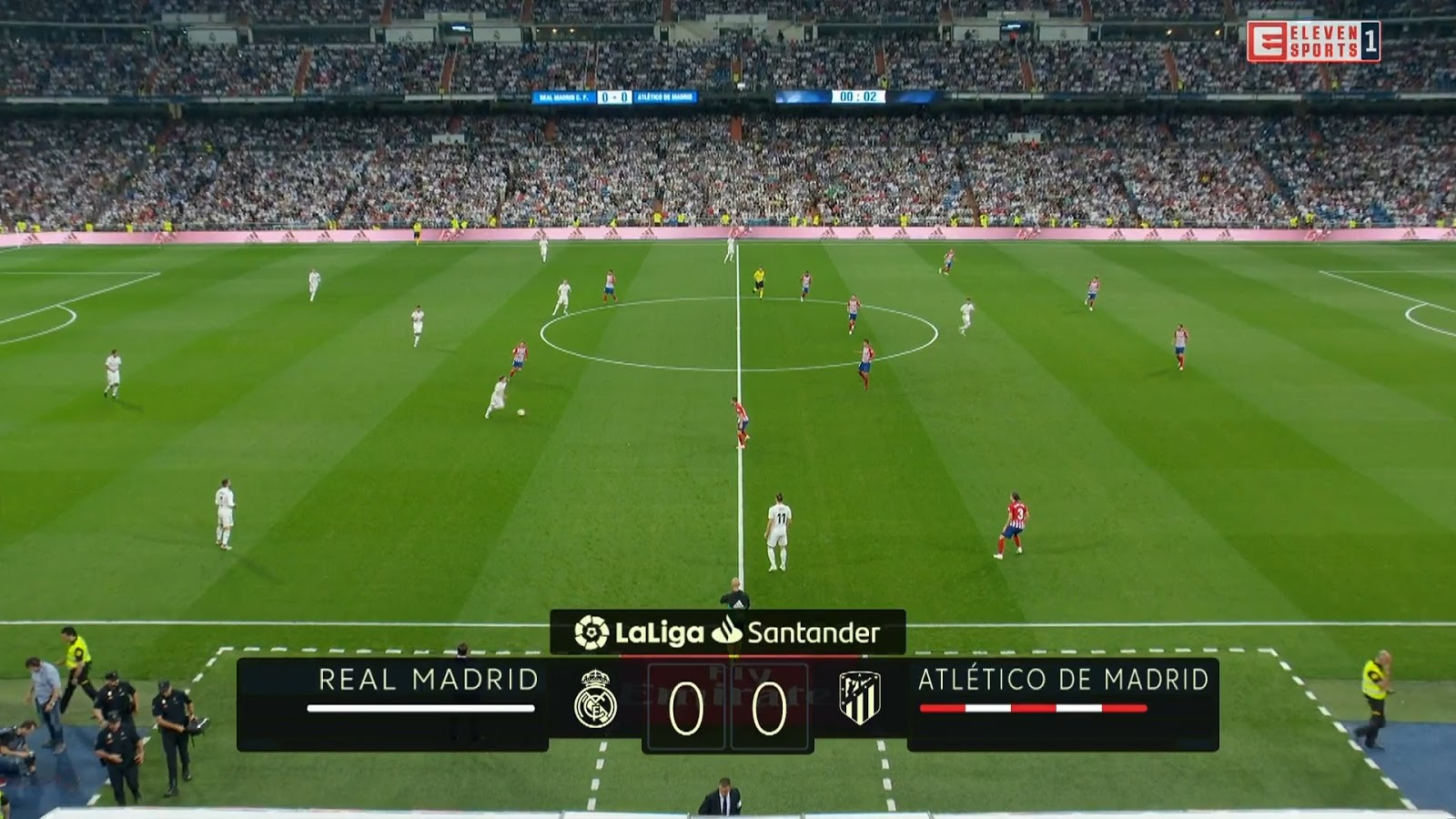 La Liga 18/19 - Matchday 7 - Real Madrid vs Atlético Madrid - 29/09/2018
