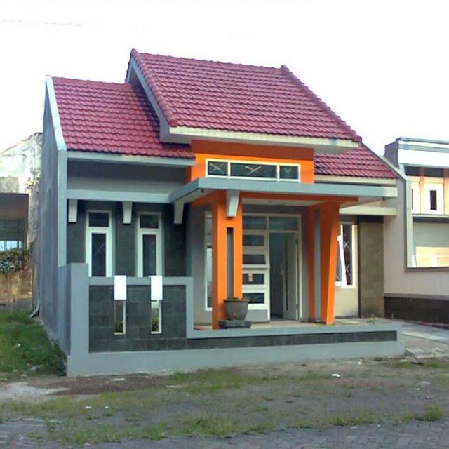 teras rumah sederhana kampung