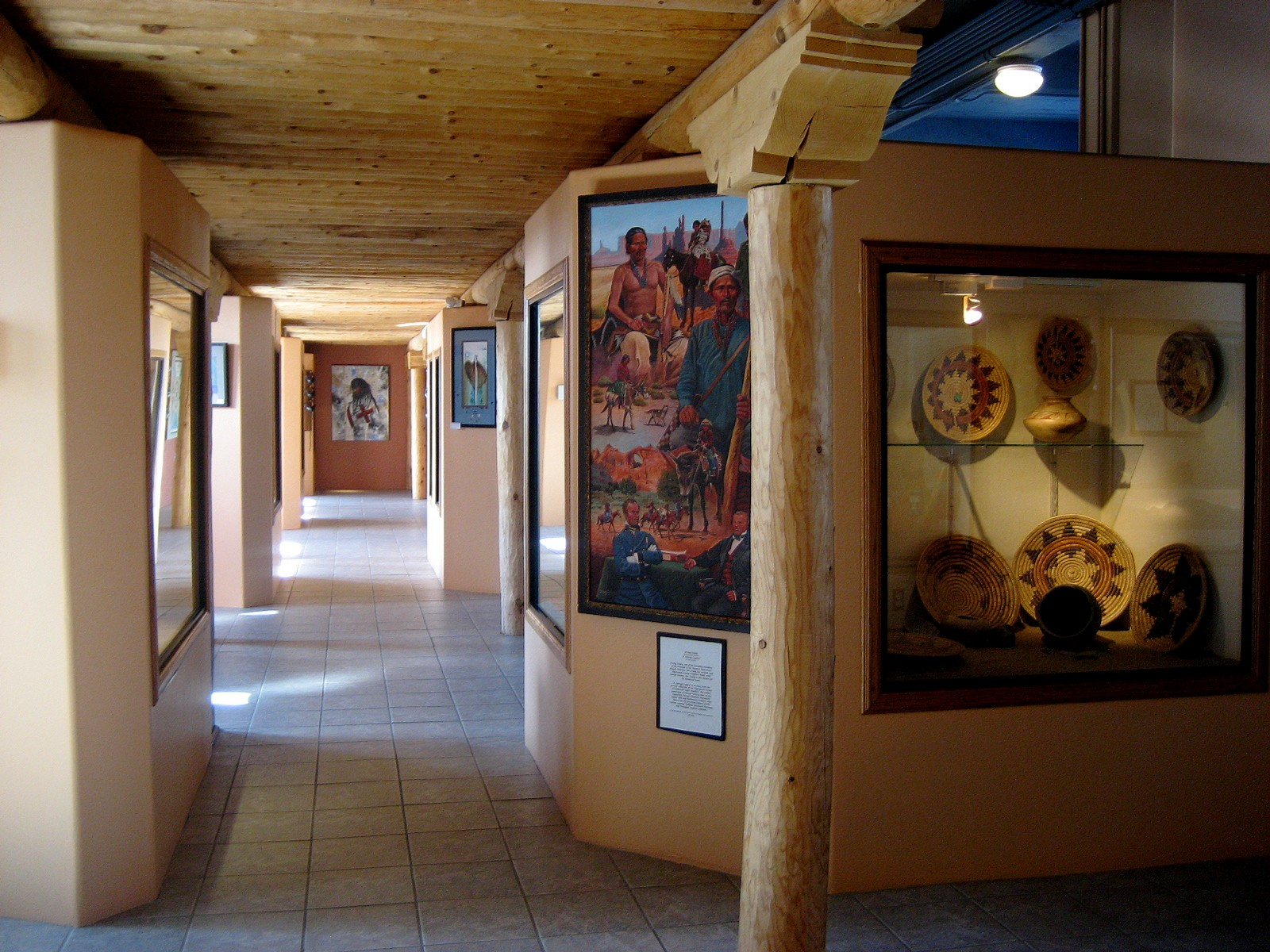 Living Rootless Gallup New Mexico Gallup Cultural Center