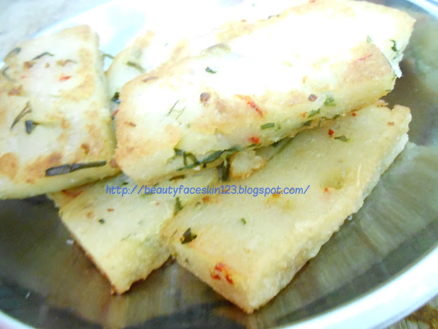 TRADITIONAL CHINESE CASSAVA CAKES / TRADITIONAL CHINESE TAPIOCA CAKES RECIPE