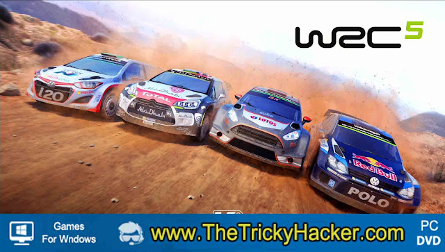WRC 5 FIA World Rally Championship Free Download Full Version Game PC