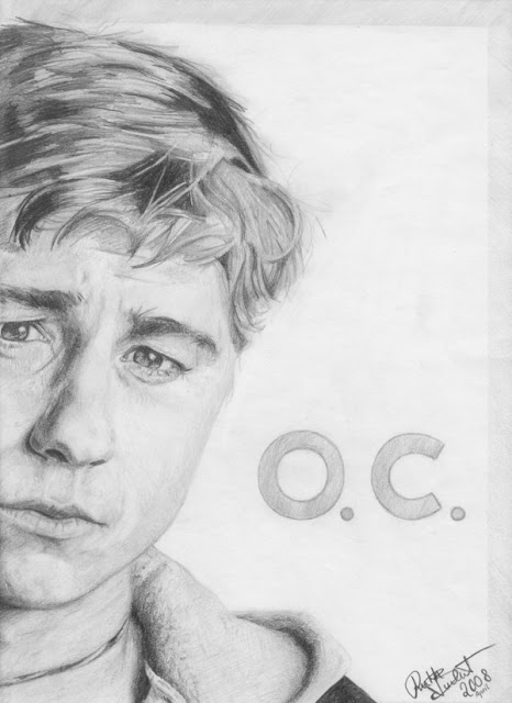 ryan atwood oc pencil drawling amelieme artist
