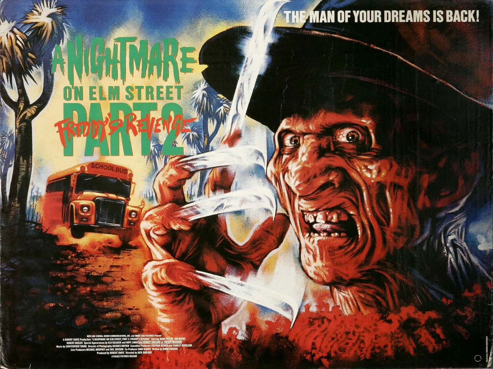 31 Days of Halloween - Nightmare on Elm St. Part 2 ...