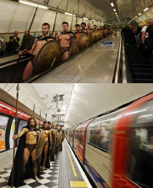 Kala Pasukan Spartan Hidup di Dunia Modern
