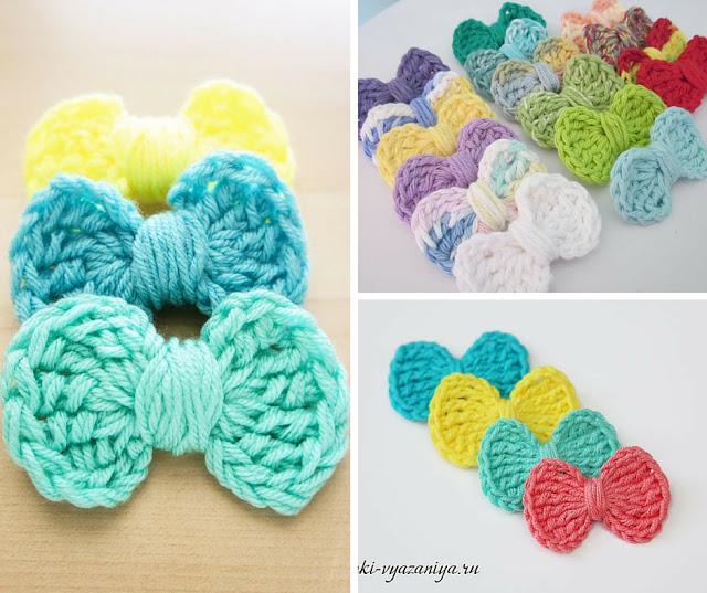 Tutorial #78: Cómo hacer un lazo tejido a Crochet