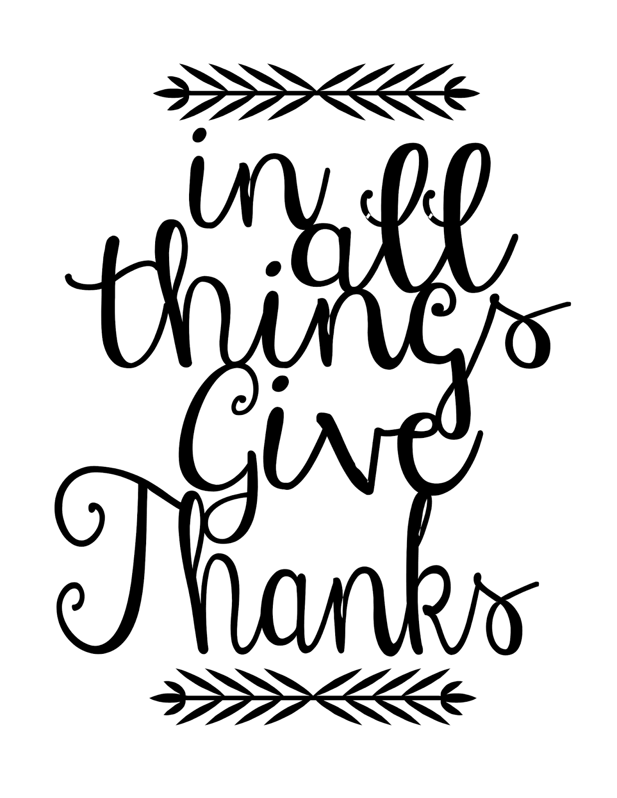 Happy Thanksgiving Clip Art Black And White Pictures To