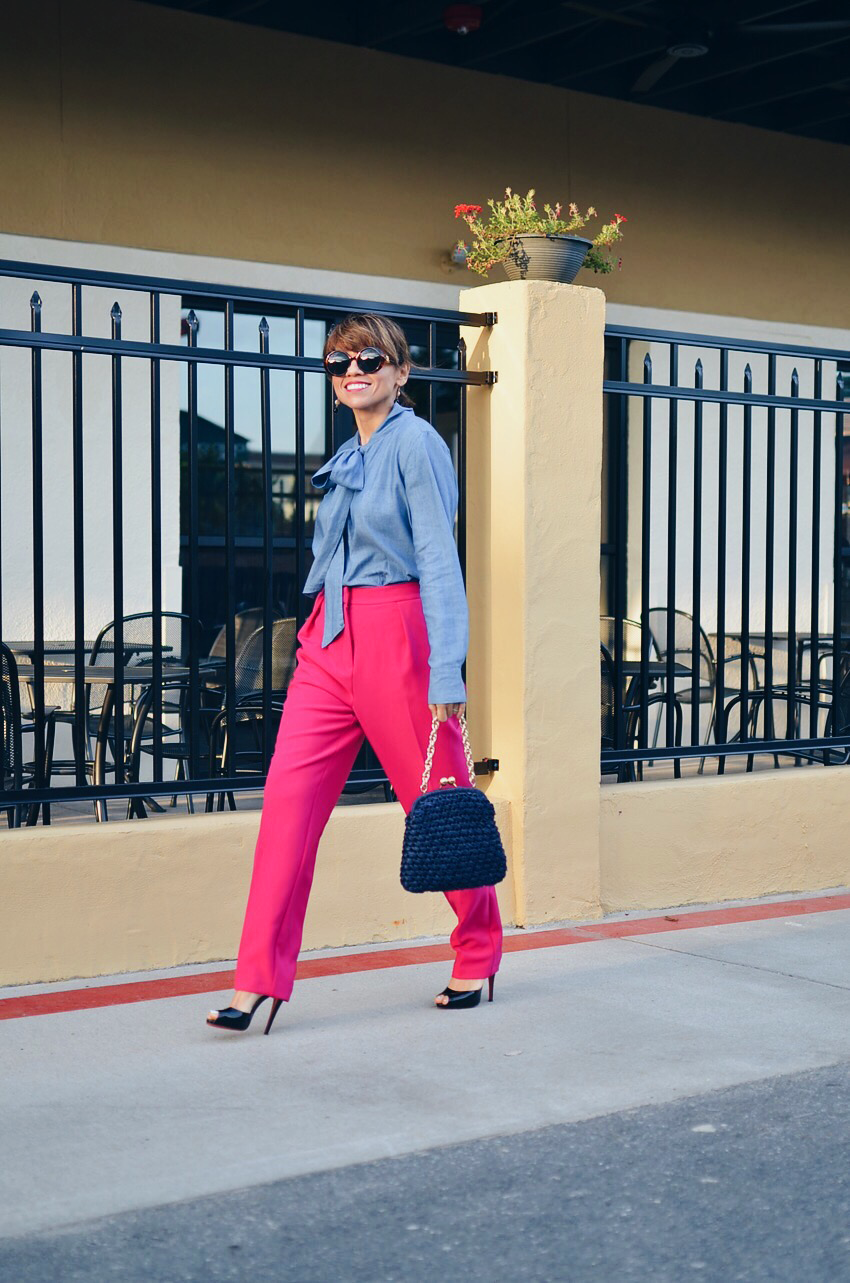 Bright Pants Street Style