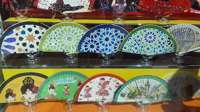 Abanicos, Sevilla, Andalucía, España, Elisa N, Blog de Viajes, Lifestyle, Travel