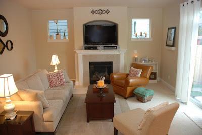 Desain Interior Terbaik Ruang Keluarga Sempit