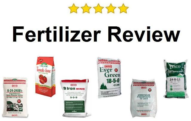 Fertilizer Review - Select the best natural fertilizer
