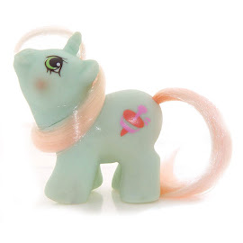 My Little Pony Jebber Year Six Newborn Twin Ponies II G1 Pony