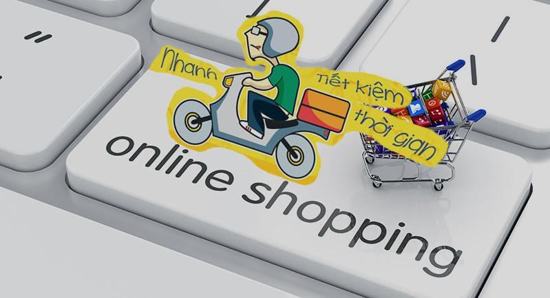 ảnh hài hước về bán hàng online ship hàng