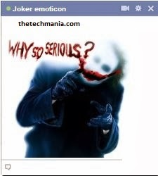 facebook chat emotions Joker