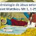 Diaporama : Généalogie de Jésus, Christ, fils de David (Noël)