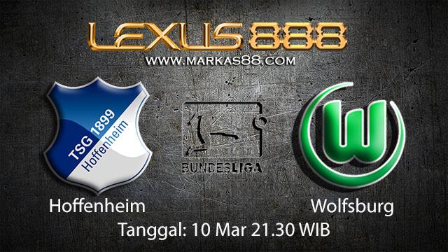 BOLA88 - PREDIKSI TARUHAN BOLA HOFFENHEIM VS WOLFSBURG 10 MARET 2018 ( GERMAN BUNDESLIGA )