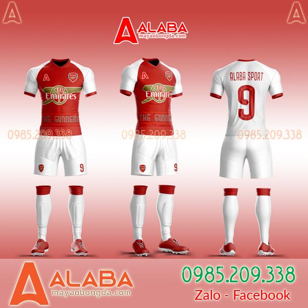 Áo CLB Arsenal tự thiết kế mã ARB AR02 đẹp