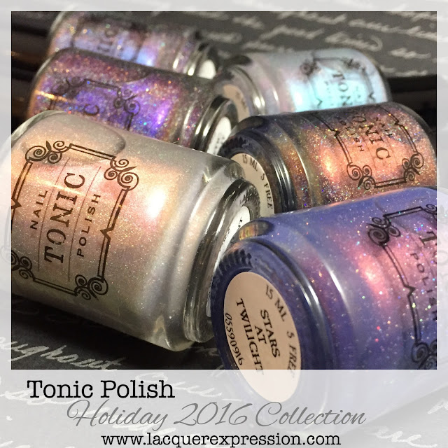Holiday 2016 nail polish collection from Tonic Polish