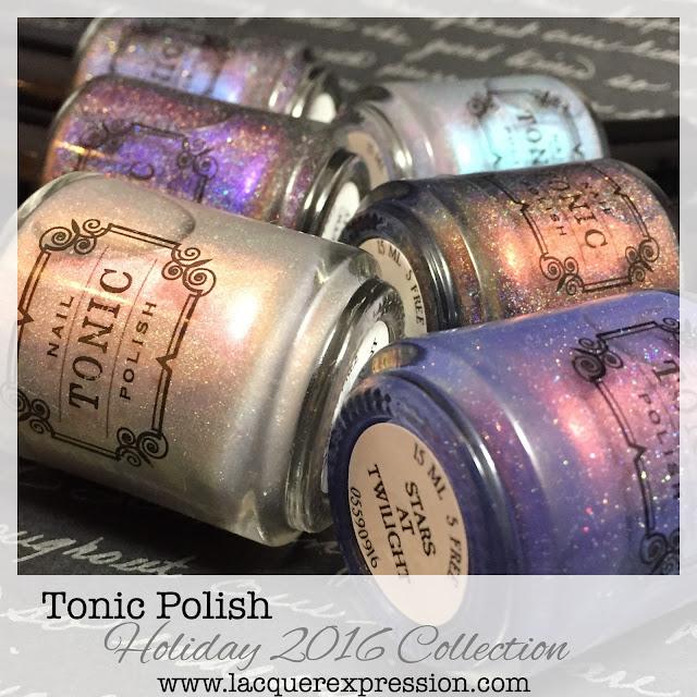 Holiday 2016 nail polish collection from Tonic Polish