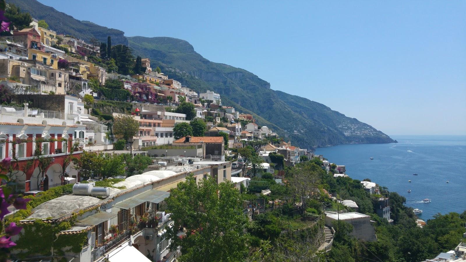 Yamaçların üzerinde bir kasaba: Amalfi 93