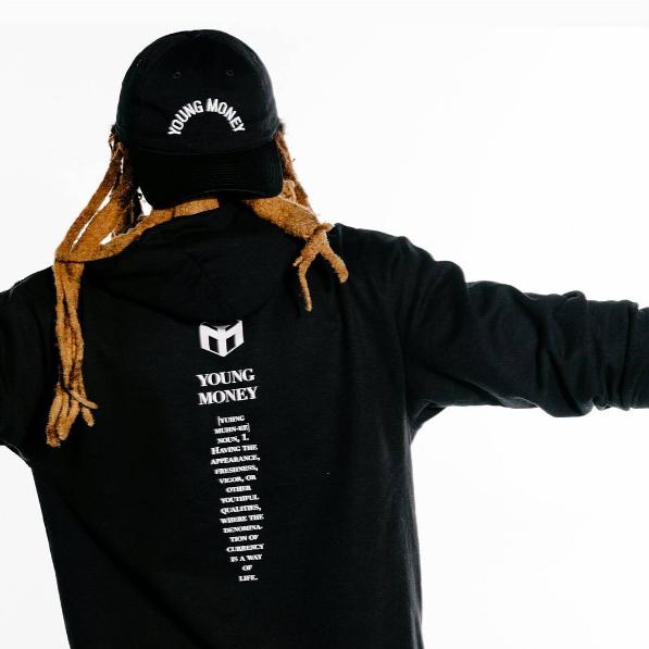 fotos sesion fotografica de lil wayne ropa merchandising gorras camisetas sudaderas young money trukfit