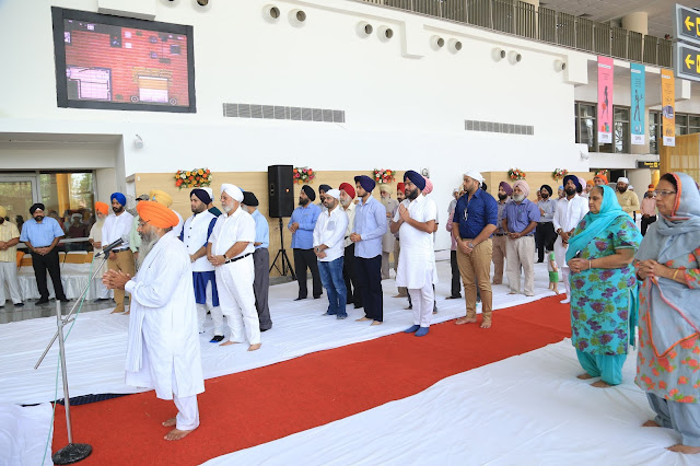 'Ardaas Shukrana' held on the successful completion of Baba Banda Singh Bahadur ISBT (1)-min