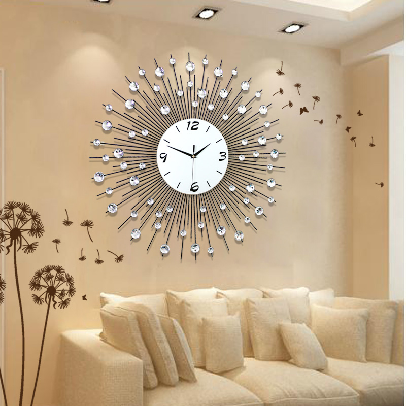 25 European Luxury Wall Clock Design Ideas
