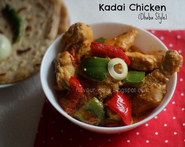 recipe: kadai chicken with capsicum recipe [37]
