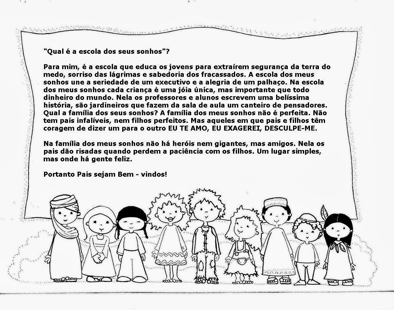 Texto Para O Primeiro Dia De Aula: Texto Para A Volta às Aulas