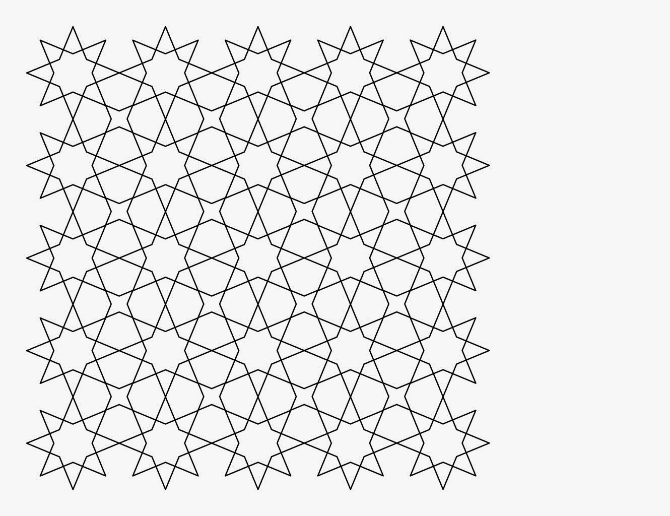 Median don steward mathematics teaching tessellations to for Tessellating shapes templates