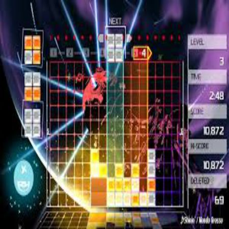 Download Lumines Remastered Highly Compressed Game For PC