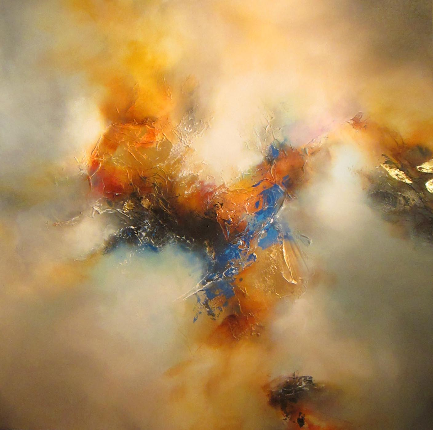 Abstract Paintings By Artist Simon Kenny: Simon Kenny