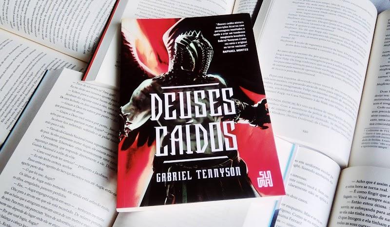[RESENHA #570] DEUSES CAÍDOS - GABRIEL TENNYSON