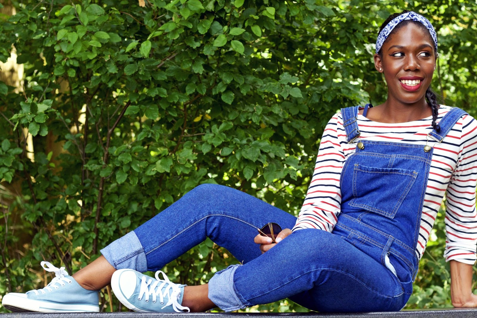 breton top, styling the breton top, boohoo dungarees,dungarees, summer style, boden clothing, nautical style, 100 ways to 30 blog, uk fashion blog, uk style, fashion and fun