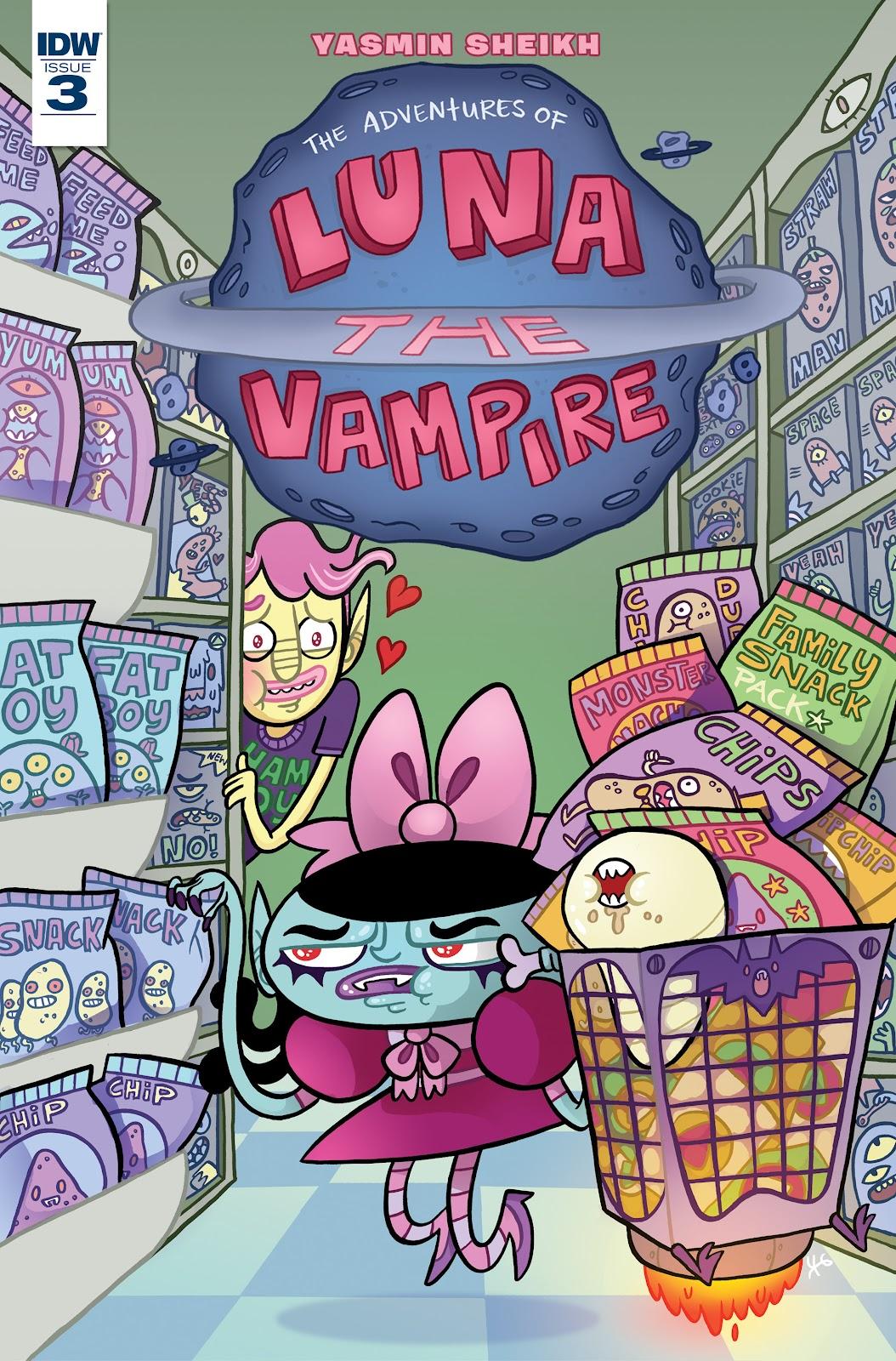Luna the Vampire 3 Page 1