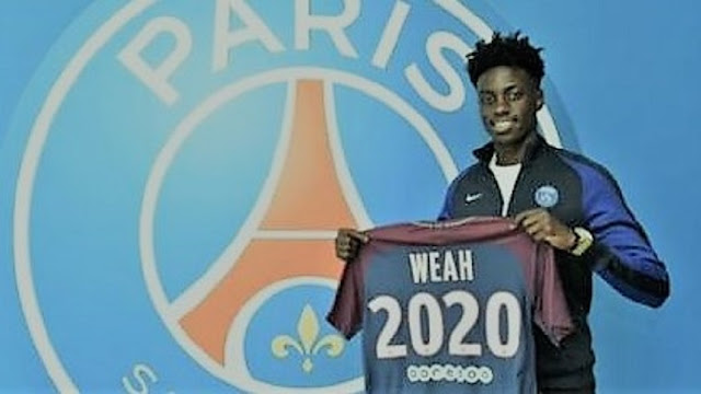 paris saint german,fc,psg,PSG,african footballer,footballer,football,sports,news,techlightnews,techlightnews.com,Tech Light News,sports news,tech news,technology,information technology,tech,international news,Timothy Weah,Timothy