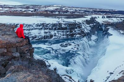 Visitantes en temporada baja Islandia