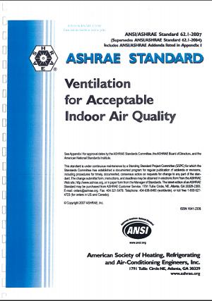 Ashrae standard 62 1 ti u chu n ashrae c ng ng k for Indoor design conditions ashrae