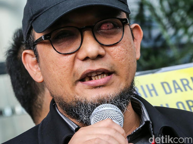 Novel Baswedan Tanggapi Tantangan Andi Arief ke Jokowi Soal Donor Mata