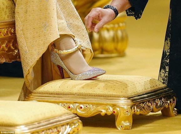 sultan brunei son wedding
