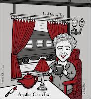 Shakespearmint & Agatha ChrisTea