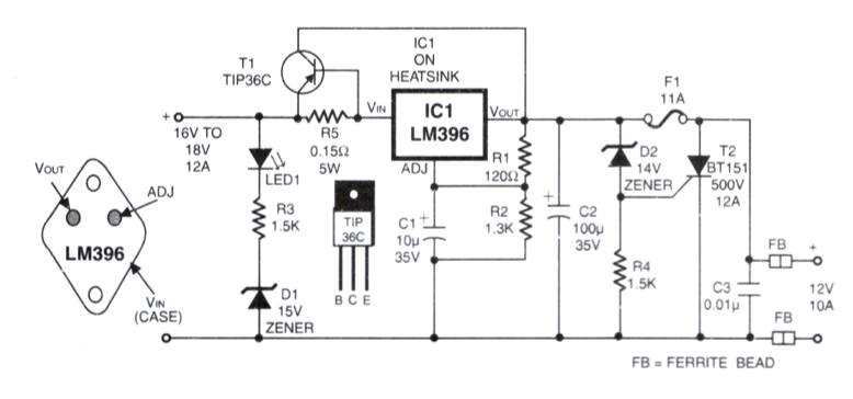 Tips and Tricks Help: Suitable Power Supply Circuit for