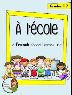 https://www.teacherspayteachers.com/Product/A-lecole-School-Themed-French-Unit-ReadingWritingSpeakingListening-2624616