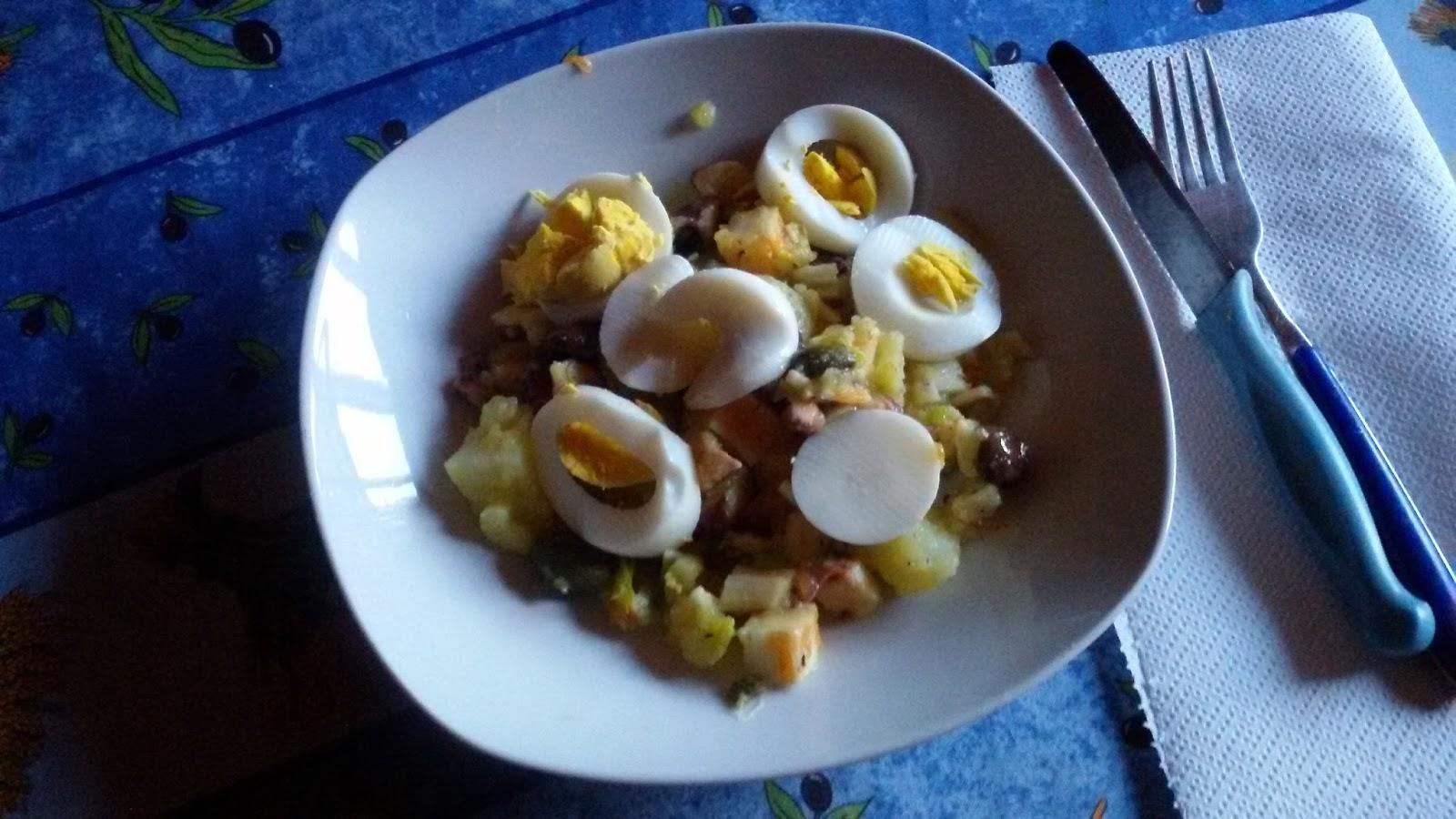 Memento solonico insalata di polpo e patate