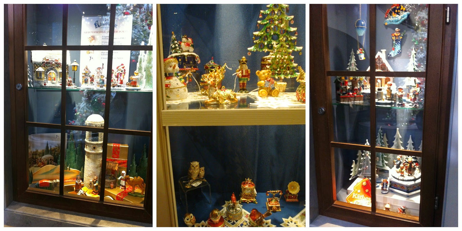 loja Käthe Wohlfahrt de decoração natalina em Berlim, Alemanha
