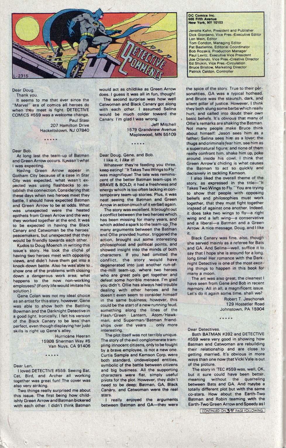 Detective Comics (1937) 563 Page 20