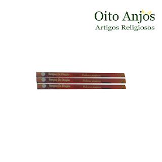 Incenso Sangue de Dragão - Oito Anjos Artigos Religiosos e Loja Esotérica