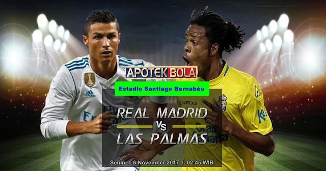 Prediksi Real Madrid vs Las Palmas 6 November 2017