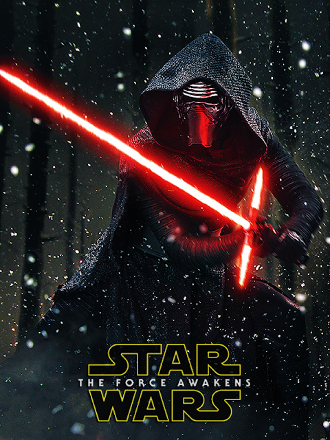 Kylo Ren, personajul negativ din Star Wars: The Force Awakens