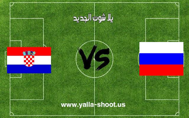 نتيجة مباراة روسيا وكرواتيا اليوم السبت 7-7-2018 ربع نهائي كأس العالم 2018