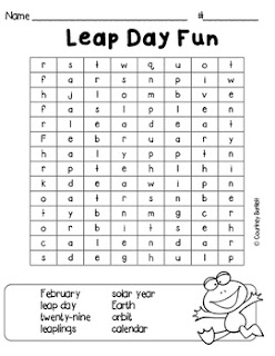 https://www.teacherspayteachers.com/Product/Leap-Day-Wordsearch-Freebie-2416492